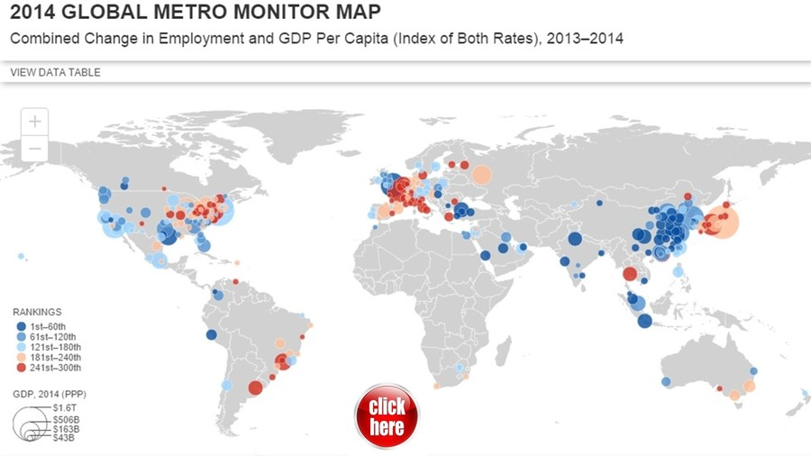 Global Metro Monitor Map 2