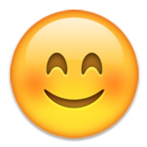 iPhone smiley face