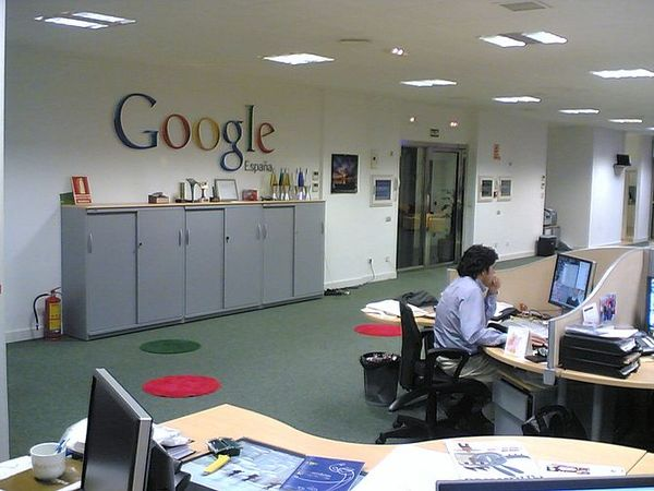 Google's Nested Approach to Offices