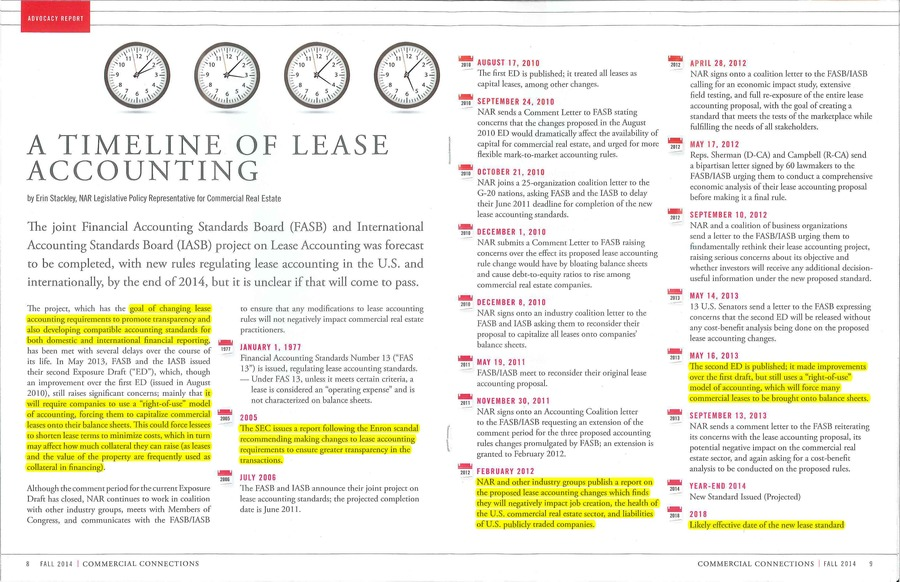 A Timeline of Lease Accounting 2