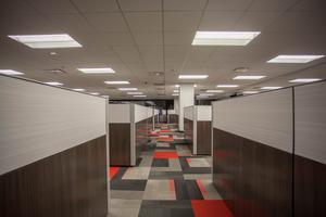 Lee Office aisle